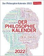 Cover-Bild zu Der Philosophie-Kalender 2022 von Brüning, Barbara