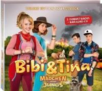 """Cover-Bild zu Bibi und Tina. Der Soundtrack zum 3. Kinofilm """"Mädchen gegen Jungs"""". Deluxe-Edition"""