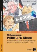 Cover-Bild zu Stationenlernen Politik 7./8. Klasse (eBook) von Lauenburg, Frank