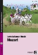 Cover-Bild zu Lernstationen Musik: Mozart von Wolf, Barbara