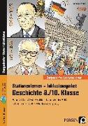 Cover-Bild zu Stationenlernen Geschichte 9/10 Band 2 - inklusiv von Lauenburg, Frank