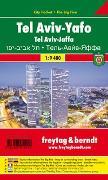 Cover-Bild zu Tel Aviv-Yafo, Stadtplan 1:9.400, City Pocket + The Big Five. 1:9'400