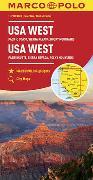 Cover-Bild zu MARCO POLO Kontinentalkarte USA West 1:2 000 000. 1:2'000'000