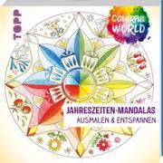 Cover-Bild zu Colorful World - Jahreszeiten-Mandalas von Altmayer, Helga