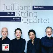Cover-Bild zu Beethoven - Bartók - Dvorák: Juilliard String Quartet