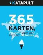 Cover-Bild zu KATAPULT Verlag (Hrsg.): 365 Karten, die deine Sicht auf die Welt verändern