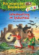 Cover-Bild zu Das magische Baumhaus junior (Band 27) - Geheimauftrag im Spukschloss