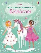 Cover-Bild zu Mein Anziehpuppen-Stickerbuch: Einhörner