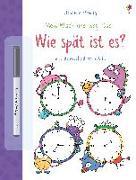 Cover-Bild zu Mein Wisch-und-weg-Buch: Wie spät ist es?