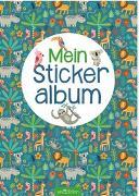 Cover-Bild zu Mein Stickeralbum - Dschungel