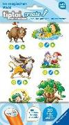 Cover-Bild zu tiptoi® CREATE Sticker Im magischen Wald von Broska, Elke (Illustr.)