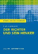 Cover-Bild zu Der Richter und sein Henker von Friedrich Dürrenmatt (eBook) von Dürrenmatt, Friedrich