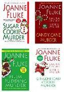 Cover-Bild zu Joanne Fluke Christmas Bundle: Sugar Cookie Murder, Candy Cane Murder, Plum Pudding Murder, & Gingerbread Cookie Murder (eBook) von Fluke, Joanne