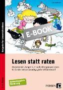 Cover-Bild zu Lesen statt raten (eBook) von Stadelmeier, Janet