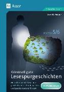Cover-Bild zu Kriminell gute Lesespurgeschichten Deutsch 5-6 von Weber, Annette