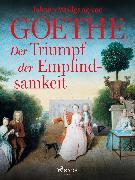 Cover-Bild zu Der Triumpf der Empfindsamkeit (eBook) von Goethe, Johann Wolfgang von