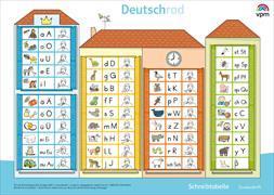 Cover-Bild zu Deutschrad 1. Schreibtabelle Druckschrift Klasse 1 von Achenbach, Bettina