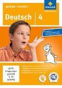 Cover-Bild zu Flierl, Ute: Alfons Lernwelt / Alfons Lernwelt Lernsoftware Deutsch - aktuelle Ausgabe
