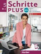 Cover-Bild zu Schritte plus Neu 5. Schweiz. Kursbuch + Arbeitsbuch mit Audio-CD zum Arbeitsbuch