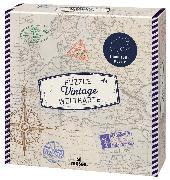 Cover-Bild zu 1.000 Teile Puzzle Vintage Weltkarte