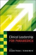 Cover-Bild zu Blaber, Amanda: Clinical Leadership for Paramedics