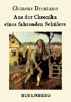 Cover-Bild zu Clemens Brentano: Aus der Chronika eines fahrenden Schülers