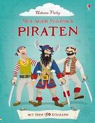 Cover-Bild zu Davies, Kate: Mein Anzieh-Stickerbuch: Piraten