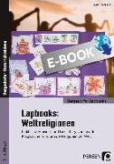 Cover-Bild zu Lapbooks: Weltreligionen - 2.-4. Klasse (eBook) von Kirschbaum, Klara