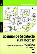 Cover-Bild zu Spannende Sachtexte zum Körper von Borchers, Joachim