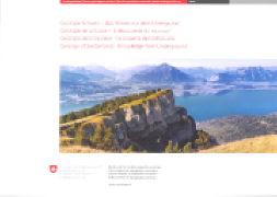 Cover-Bild zu Geologie Schweiz / Géologie de la Suisse / Geologia della Svizzera / Geology of Switzerland