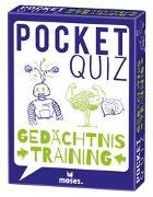 Cover-Bild zu Pocket Quiz Gedächtnistraining von Vogel, Elke