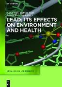 Cover-Bild zu Sigel, Astrid (Hrsg.): Lead: Its Effects on Environment and Health (eBook)