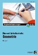 Cover-Bild zu Üben mit Selbstkontrolle: Geometrie Klasse 6 von Röser, Thomas