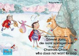Cover-Bild zu Die Geschichte von der kleinen Gämse Jana, die nicht springen will. Deutsch-Englisch. / The story of the little Chamois Chloe, who does not want to leap. German-English (eBook) von Wilhelm, Wolfgang