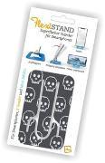 Cover-Bild zu Flexistand Skull - superflacher Aufsteller für Smartphones und Mini-Tablets, Handyhalter
