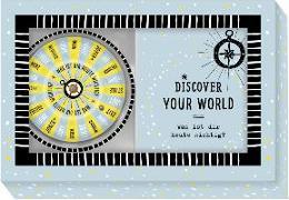 Cover-Bild zu Schachtelspiel - Discover your world von Sander, Gesa (Illustr.)
