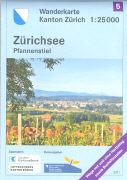 Cover-Bild zu Wanderkarte Kanton Zürich 5. Zürichsee Pfannenstiel. 1:25'000