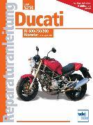 Cover-Bild zu Ducati M 600/750/900 Monster