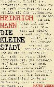 Cover-Bild zu Die kleine Stadt (eBook) von Mann, Heinrich