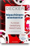 Cover-Bild zu Decker Maschinenelemente