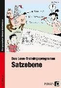 Cover-Bild zu Das Lese-Trainingsprogramm: Satzebene von Wemmer, Katrin