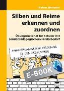 Cover-Bild zu Silben und Reime erkennen und zuordnen (eBook) von Wemmer, Katrin