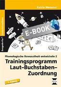 Cover-Bild zu Phonologische Bewusstheit entwickeln 2 (eBook) von Wemmer, Katrin