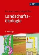 Cover-Bild zu Landschaftsökologie
