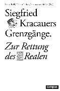 Cover-Bild zu Siegfried Kracauers Grenzgänge (eBook) von Balke, Friedrich (Beitr.)