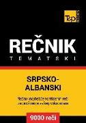 Cover-Bild zu Srpsko-Albanski tematski recnik - 9000 korisnih reci (eBook) von Taranov, Andrey