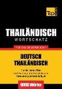 Cover-Bild zu Wortschatz Deutsch-Thailändisch für das Selbststudium - 9000 Wörter (eBook) von Taranov, Andrey