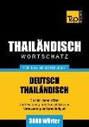 Cover-Bild zu Wortschatz Deutsch-Thailändisch für das Selbststudium - 3000 Wörter (eBook) von Taranov, Andrey