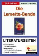 Cover-Bild zu Die Lametta-Bande / Literaturseiten von Vatter, Jochen