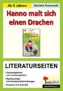 Cover-Bild zu Hanno malt sich einen Drachen - Literaturseiten